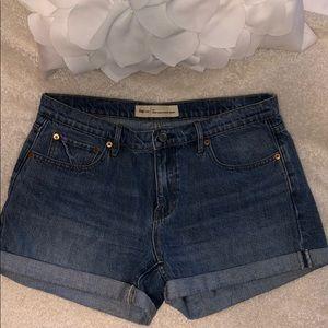 GAP Light Wash Jean Shorts